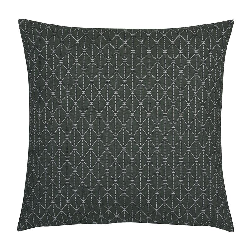 Fresh & Co Sierkussenhoes Ethnic Diamond - Groen - 45 x 45 cm