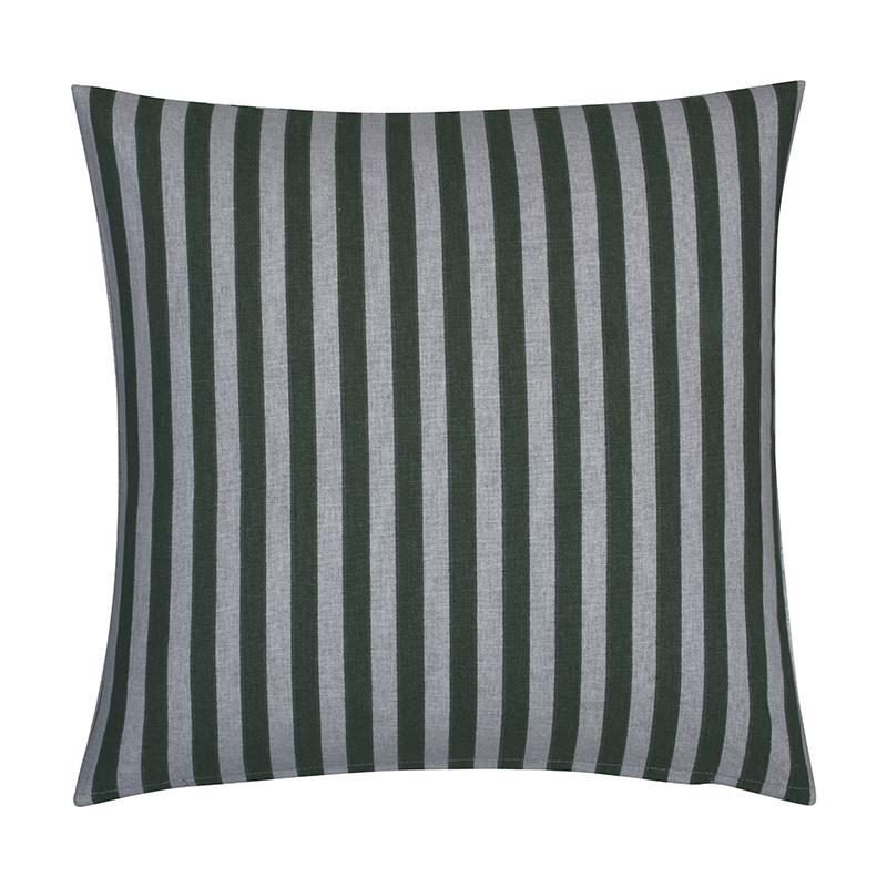 Fresh & Co Sierkussenhoes Medium Stripe Vertical - Groen
