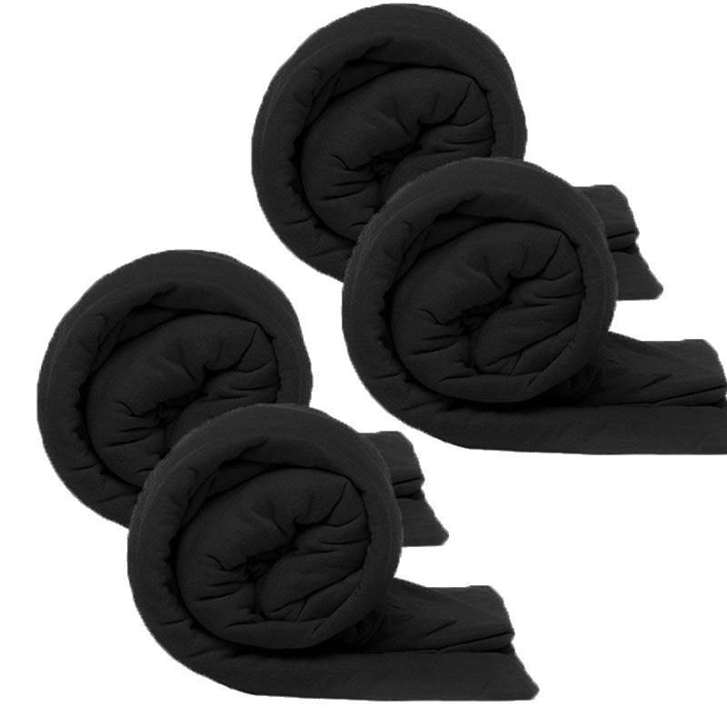 Kingsize Bedding 4-PACK Kingsize Jersey Hoeslakens - Antraciet 180 x 200 cm