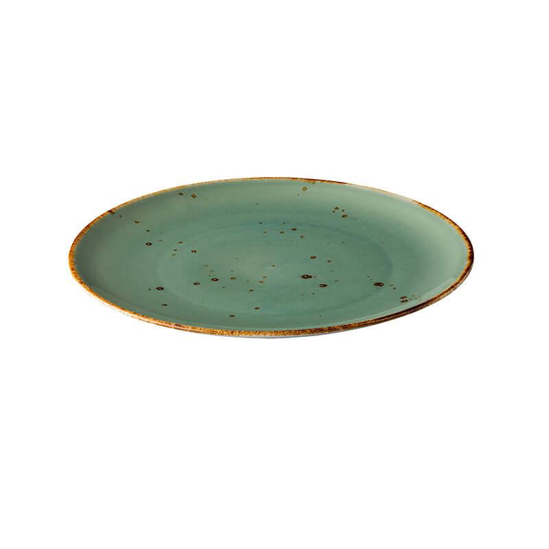 Bord Rustic - Blauw 15,5 cm - 6 stuks