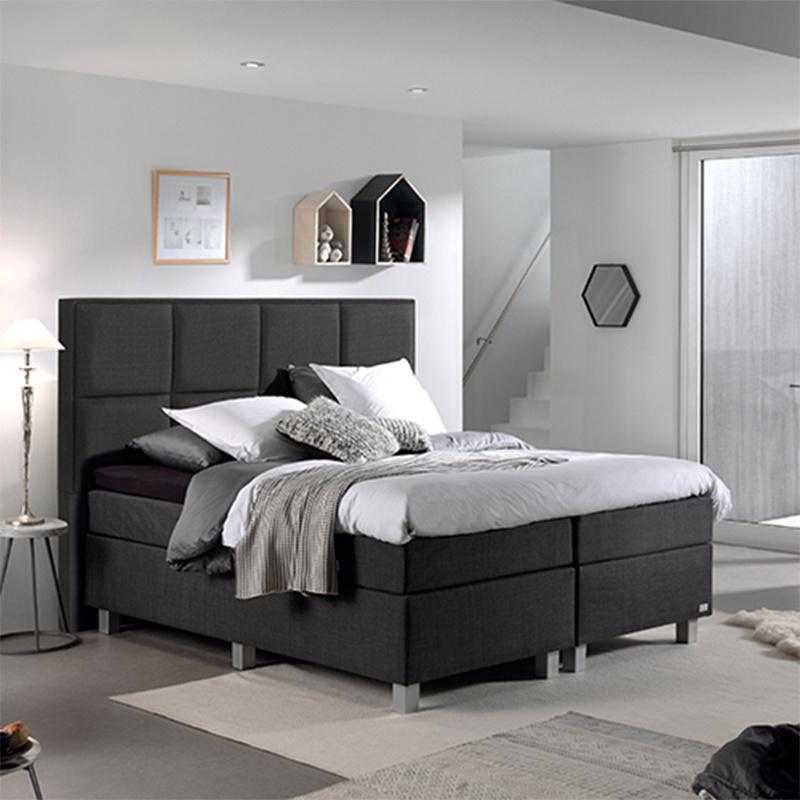 DreamHouse Bedding Boxspringset - Vigo Comfort 180 x 200, Montagekeuze: Excl. Montage