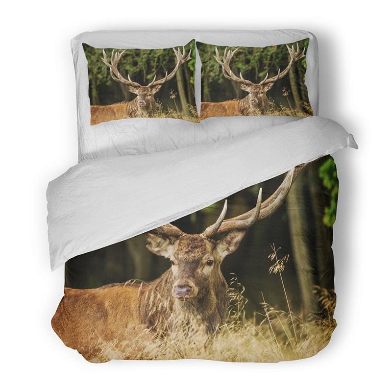 DLC Spotted Deer 2-persoons (200 x 200/220 cm + 2 kussenslopen) Dekbedovertrek