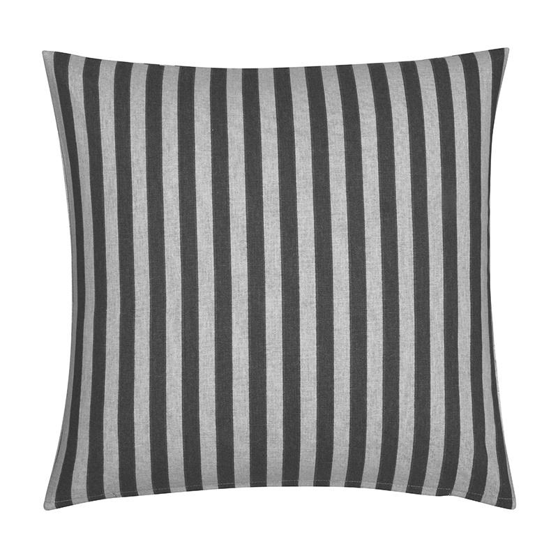 Sierkussenhoes Medium Stripe Vertical - Grijs Fresh & Co Soort: Sierkussenhoes - Ga naar Dekbed-Disc