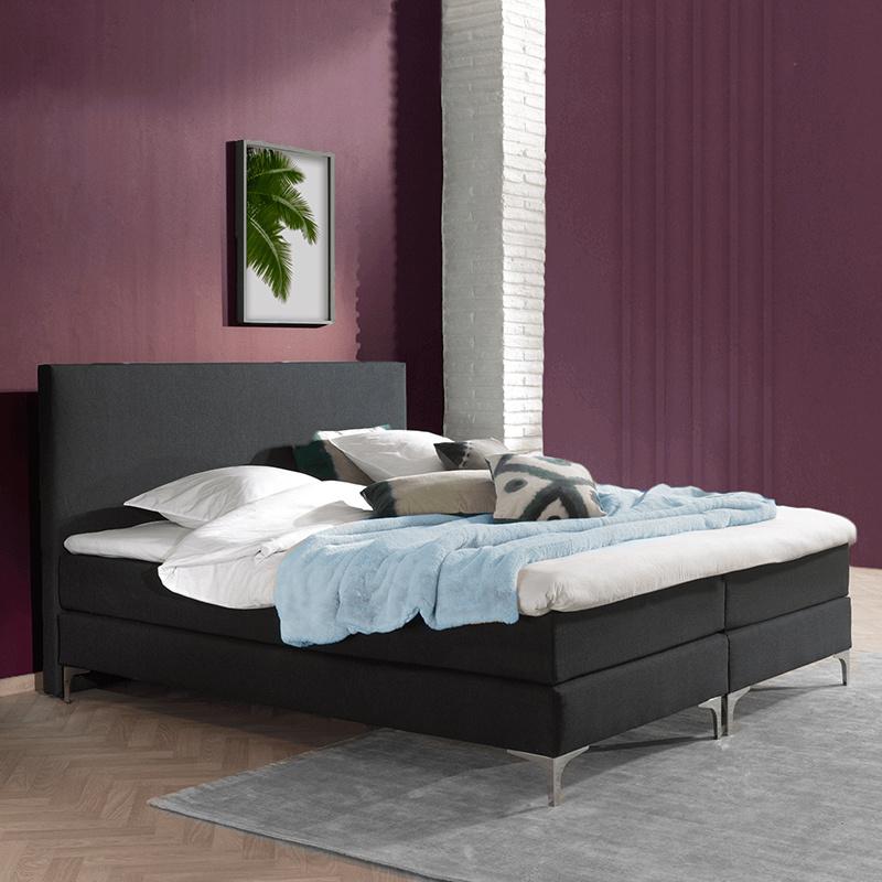 DreamHouse Bedding Boxspringset - Cisano 180 x 200, Montagekeuze: Excl. Montage