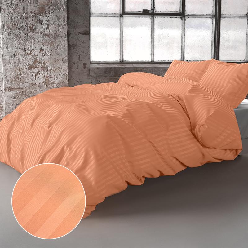 Zensation Dallas – Oranje 1-persoons (140 x 200/220 cm + 1 kussensloop) Dekbedovertrek