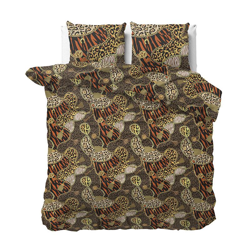 Sleeptime Elegance Tiger Jewelry 2-persoons (200 x 220 cm + 2 kussenslopen) Dekbedovertrek