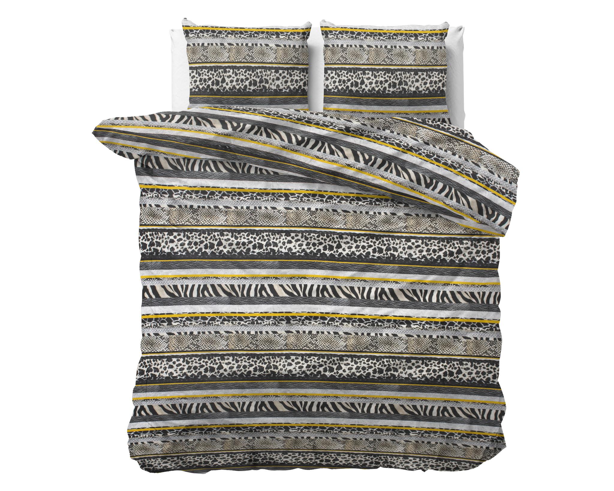 Sleeptime Elegance Zebra Style 1-persoons (140 x 220 cm + 1 kussensloop) Dekbedovertrek