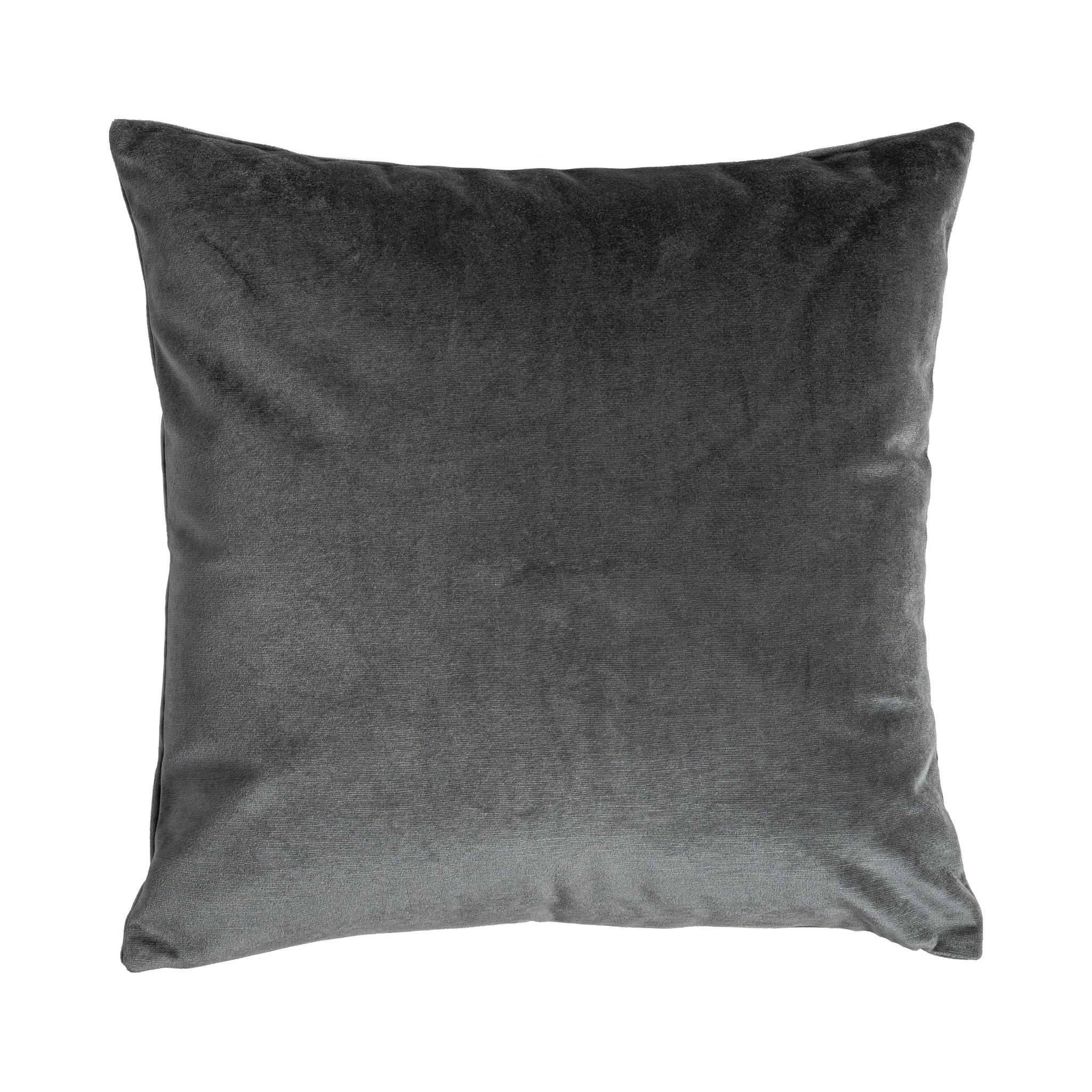 Presence Sierkussenhoes Nola - Antraciet 45 x 45 cm
