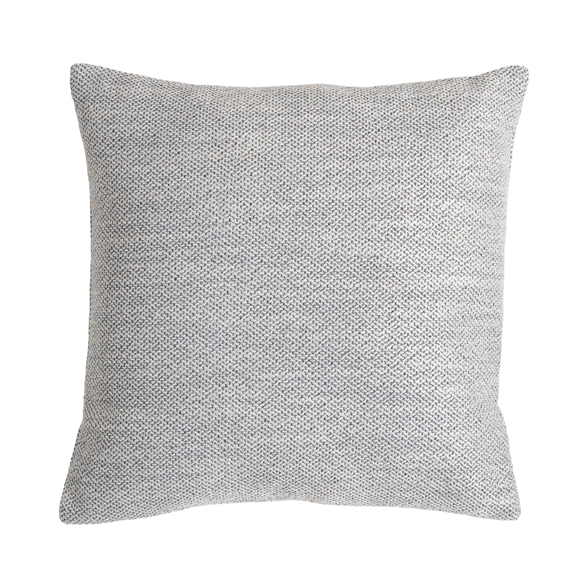 Presence Sierkussenhoes Mous - Zilver Kleur: Zilvergrijs