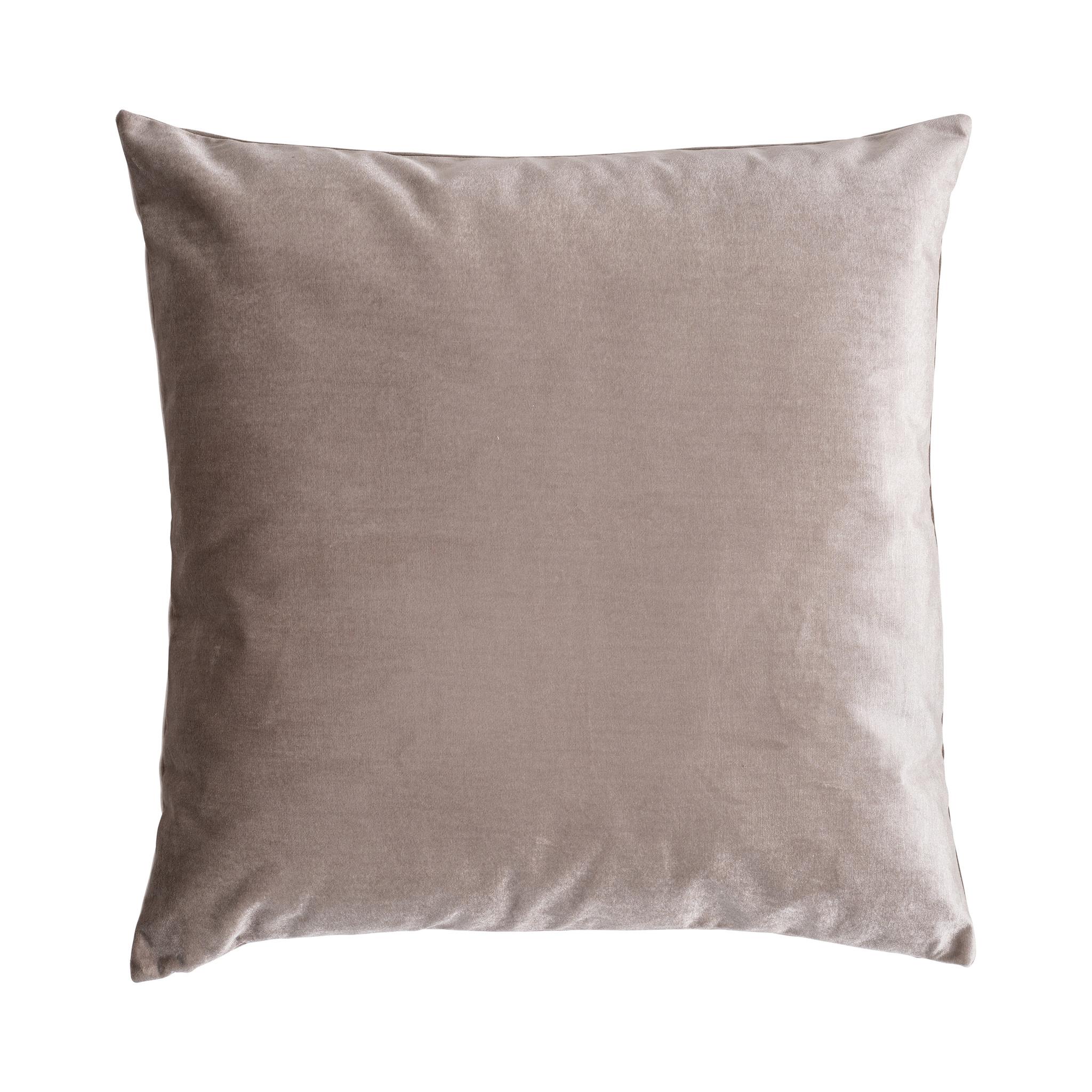 Presence Sierkussenhoes Nola - Warm grijs 60 x 60 cm