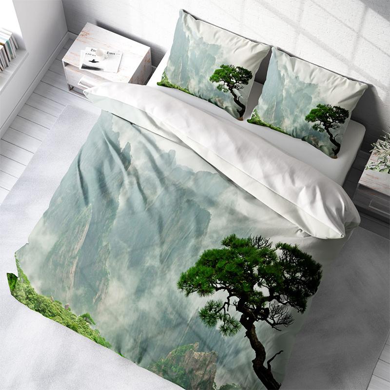 DLC Jungle Tree 1-persoons (140 x 200/220 cm + 1 kussensloop) Dekbedovertrek