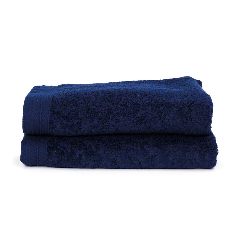 The One Towelling 2-PACK: Handdoek Organic - 70 x 140 cm - Navy