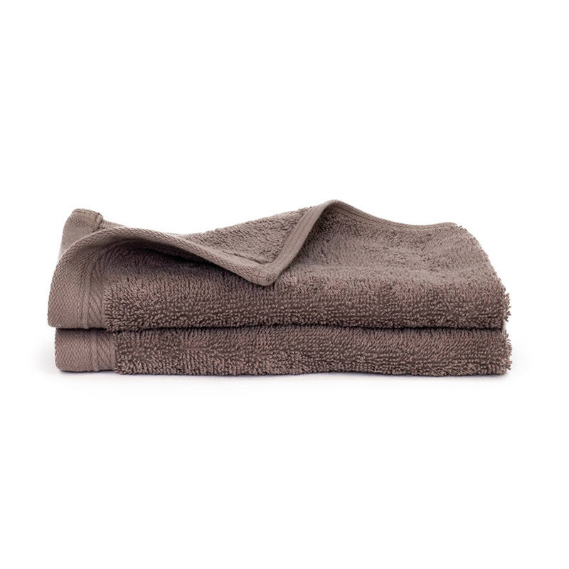 The One Towelling 2-PACK: Gastendoekjes Organic - 30 x 50 - Taupe