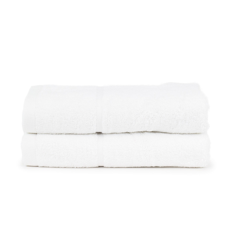 The One Towelling 2-PACK: Handdoek Hotel - 50 x 100 cm - Wit