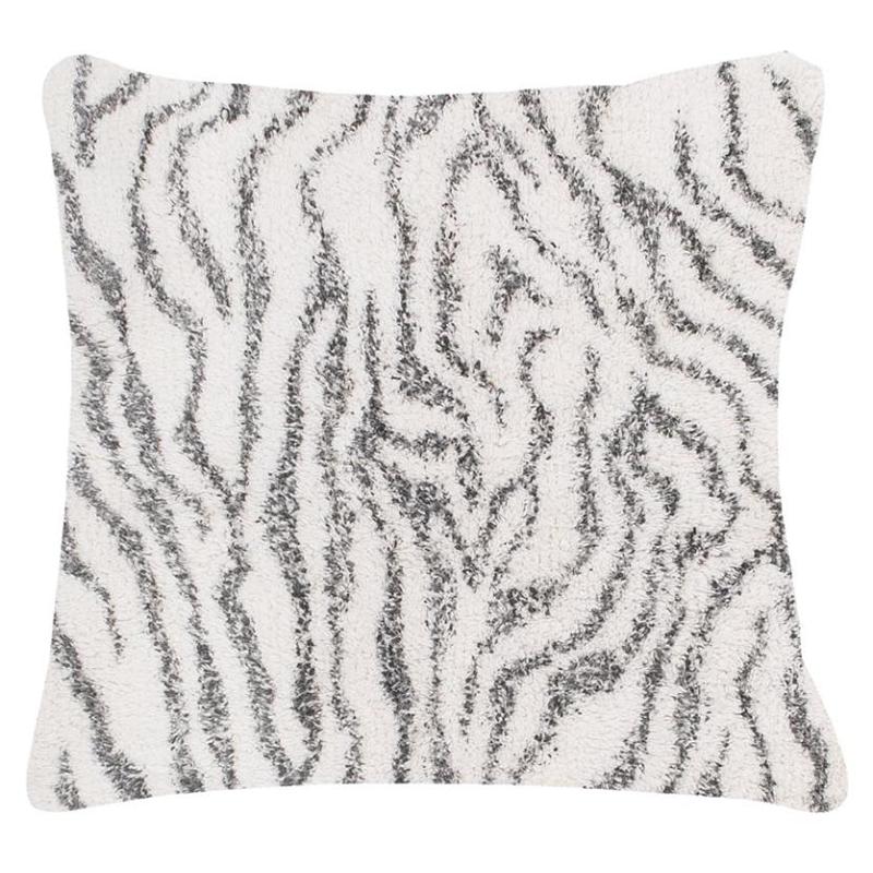 Tiseco Home Studio Sierkussen - Berber - Animal Stripe