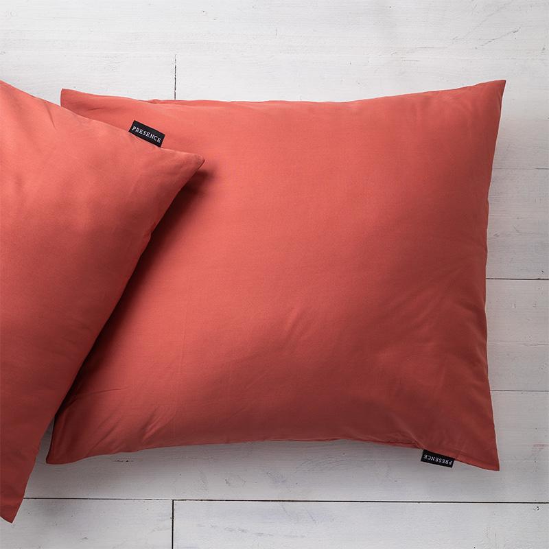 Presence 2-PACK: Kussenslopen Percale Katoen - Oud Roze 60 x 70 cm