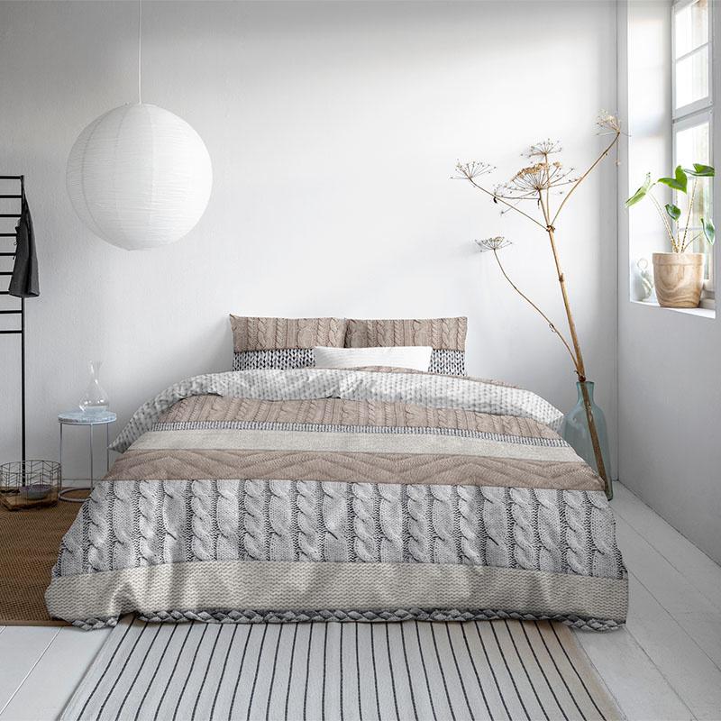 DreamHouse Bedding Elin 1-persoons (140 x 200/220 cm + 1 kussensloop) Dekbedovertrek