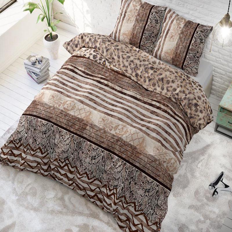 sleeptimeelegance Sleeptime Elegance Cozy Panther 1-persoons (140 x 220 cm + 1 kussensloop) Dekbedovertrek