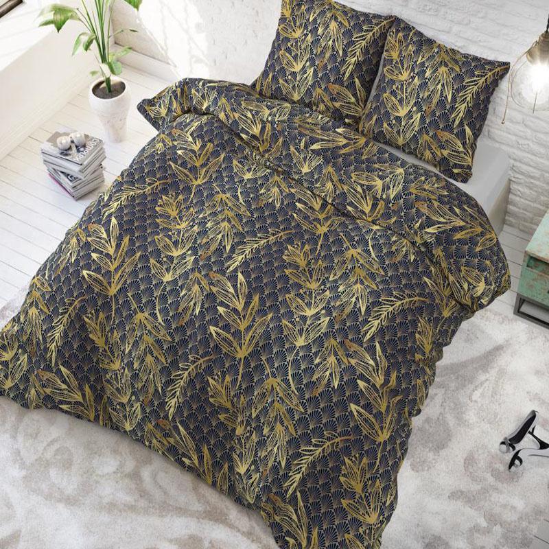 Sleeptime Elegance Luxury Leaf 1-persoons (140 x 220 cm + 1 kussensloop) Dekbedovertrek