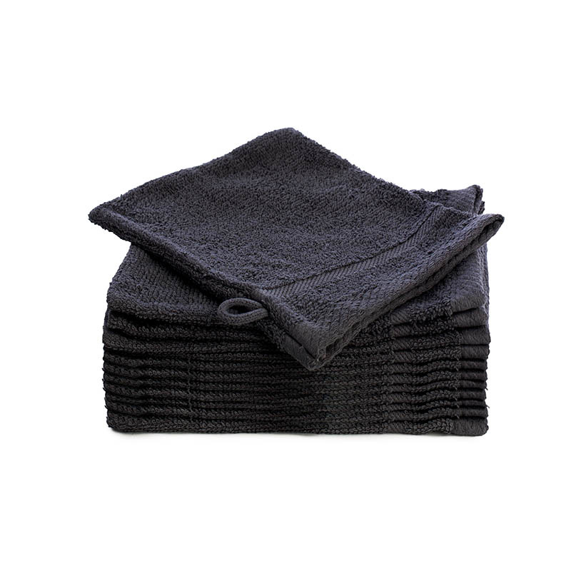 Fresh & Co 12-PACK Washandjes - Antraciet