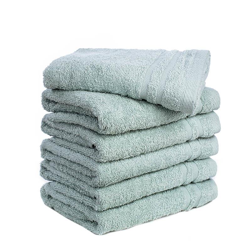 Fresh & Co 6-PACK: Handdoeken - Ijsblauw