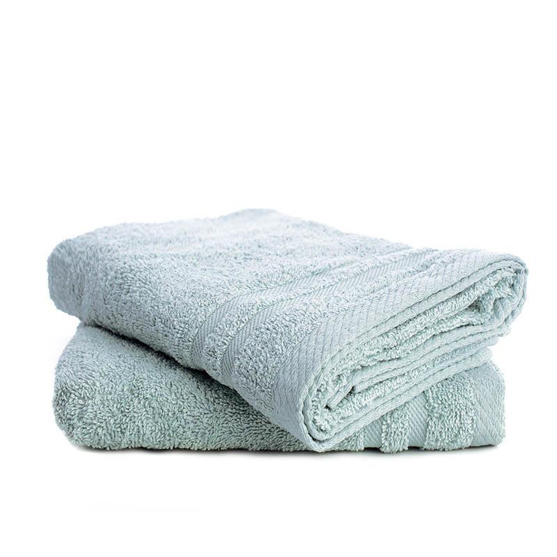 Fresh & Co 2-PACK: Handdoeken - Ijsblauw