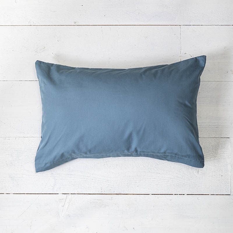 Presence 2-PACK: Sierkussenslopen Luxe Katoen - Donkerblauw 30 x 50 cm