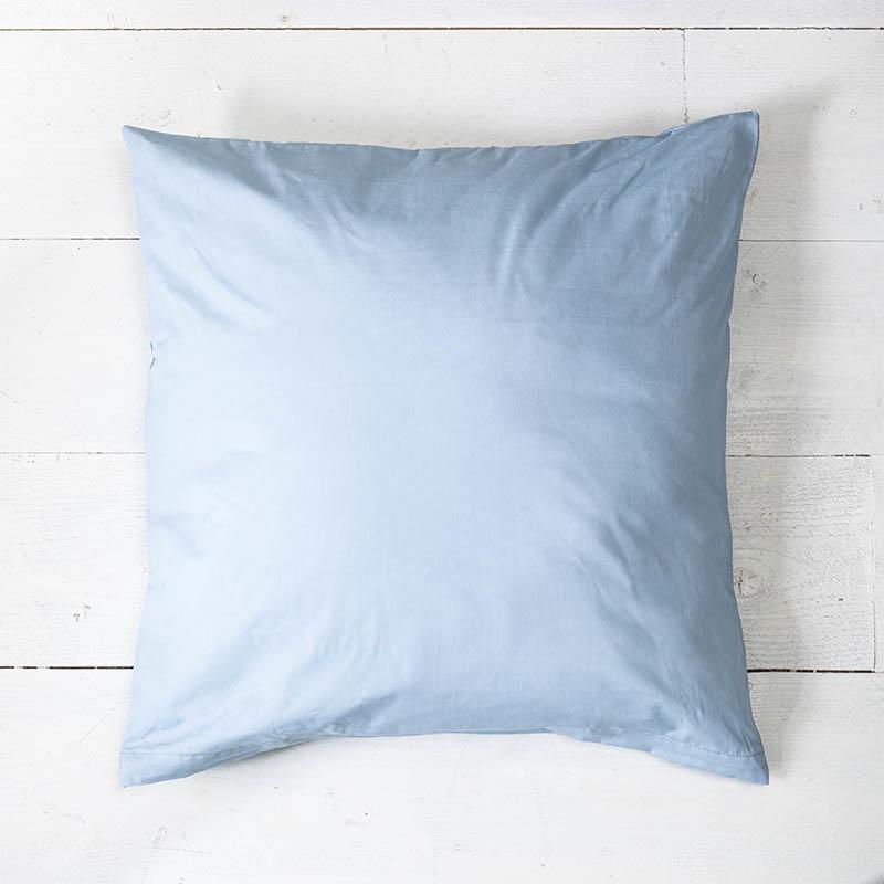 Presence 2-PACK: Sierkussenslopen Luxe Katoen - Lichtblauw 50 x 50 cm