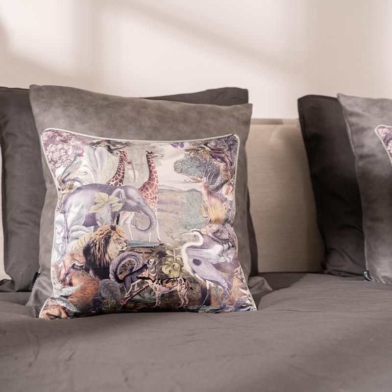 Presence Sierkussenhoes Savannah - Warm grijs 30 x 50 cm