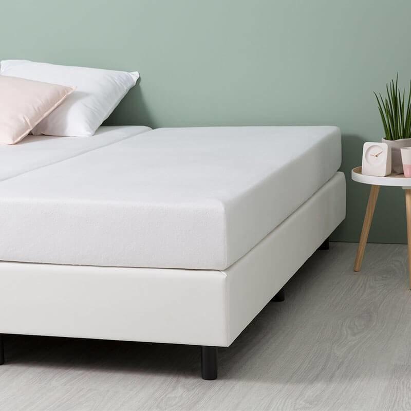 Fresh & Co Comfort Stretch Molton Hoeslaken - Wit 180 x 200 cm