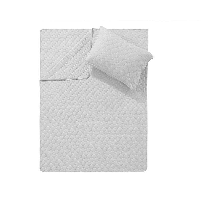DreamHouse Bedding Bedsprei Fremont - Wit 180 x 250 + 1 kussensloop