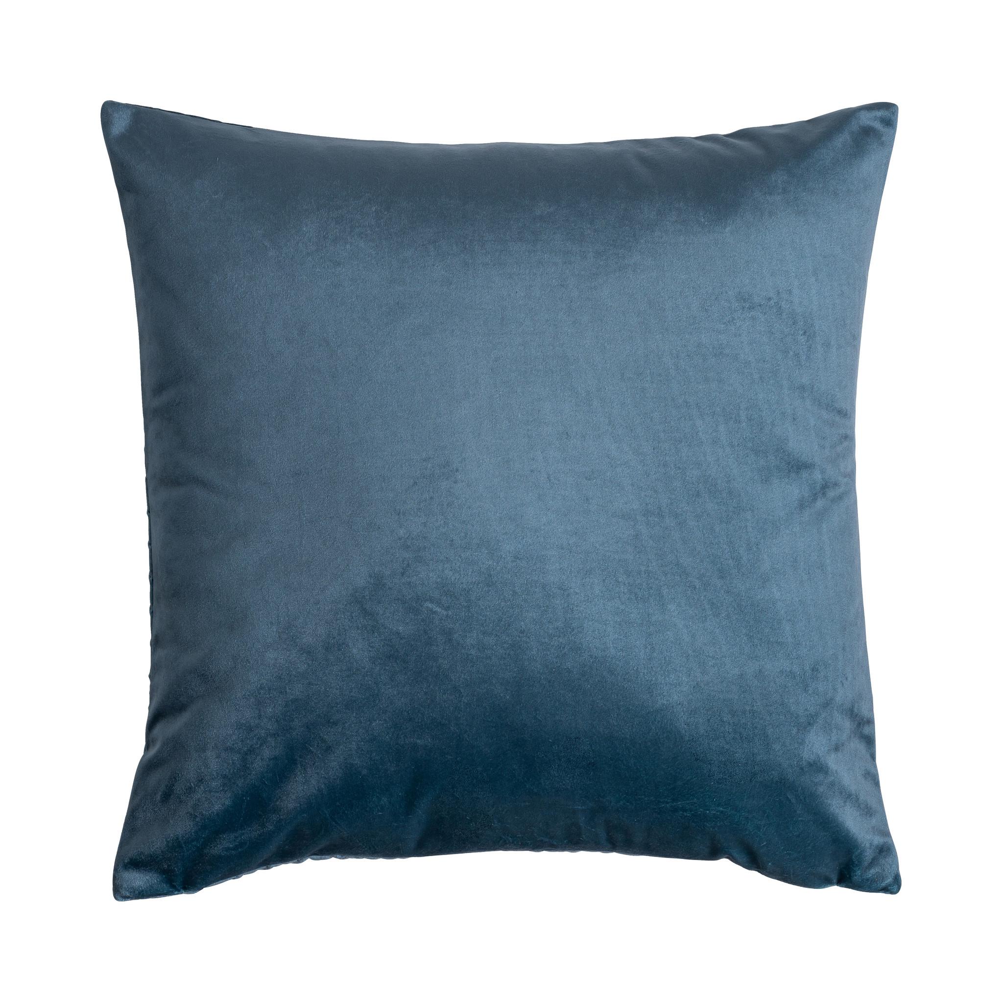 Presence Sierkussenhoes Erin - Aarde - Blauw Kleur: Blauw