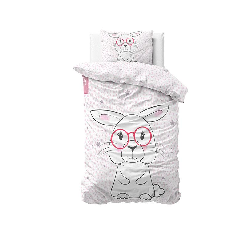 DreamHouse Bedding Wise Bunny Dekbedovertrek