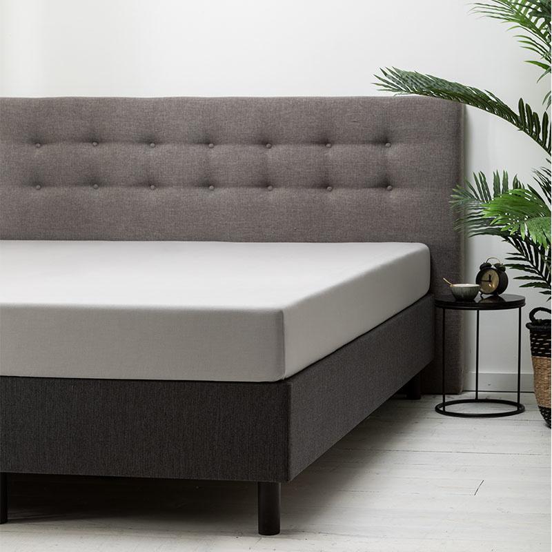 Fresh & Co Hoeslaken Katoen - Zilver 90 x 210/220 cm