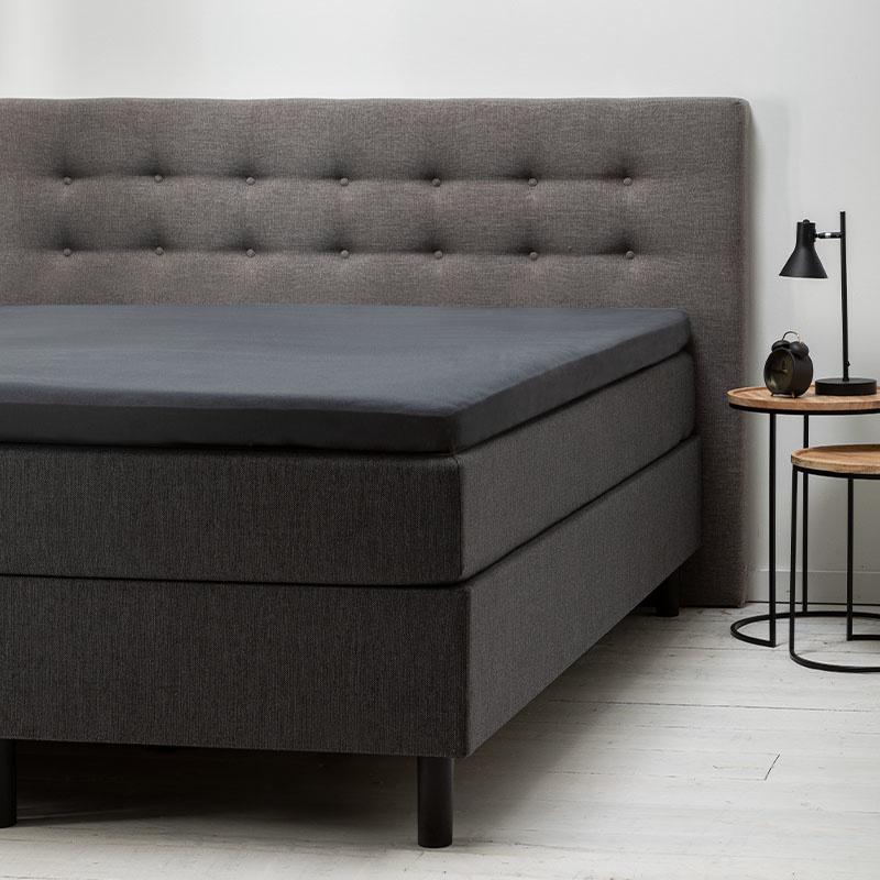 Fresh & Co Comfort Topper Hoeslaken Jersey - Antraciet 140 x 200 cm