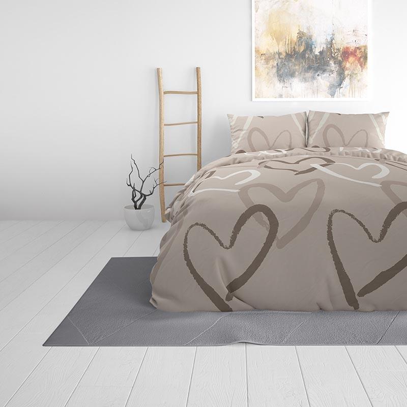 Sleeptime Elegance Liana Cream 240 x 220 Dekbedovertrek