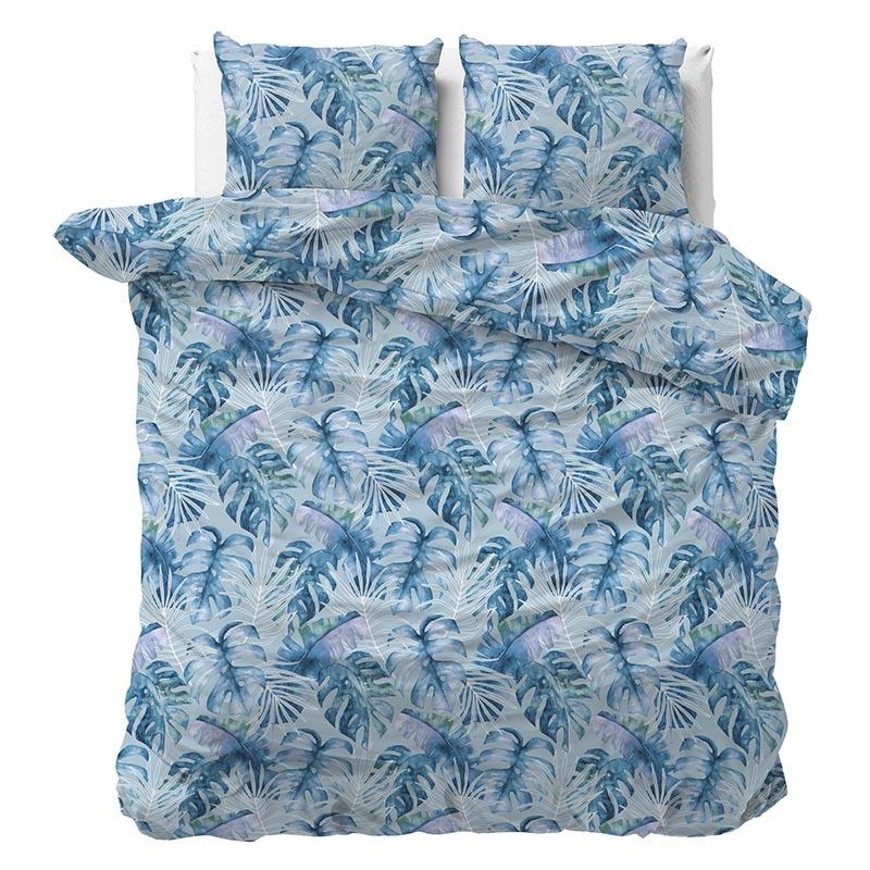 Sleeptime Elegance Ocean Botanical Blue 240 x 220 Dekbedovertrek