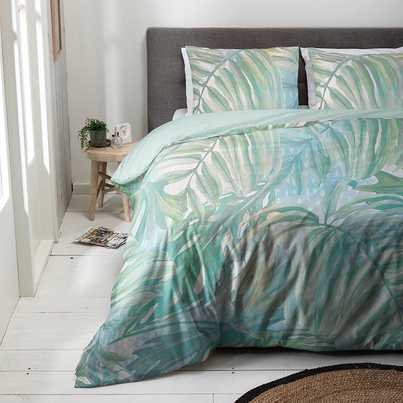 Luna Bedding Fading Palm Lits-jumeaux (240 x 220 cm + 2 kussenslopen) Dekbedovertrek