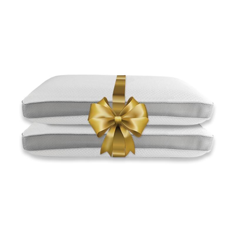 Silver Star 3D Air Kussens 2-PACK: 60 x 40 cm