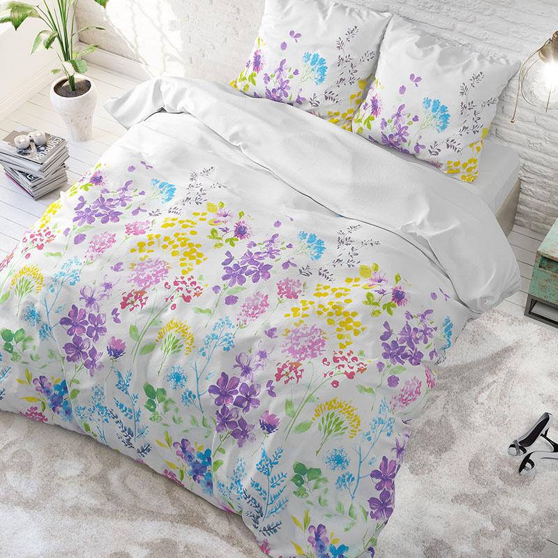Sleeptime Elegance Denise – Wit Lits-jumeaux (240 x 200/220 cm + 2 kussenslopen) Dekbedovertrek