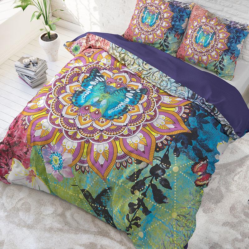 DreamHouse Bedding Zack - Multi 2-persoons (200 x 220 cm + 2 kussenslopen)