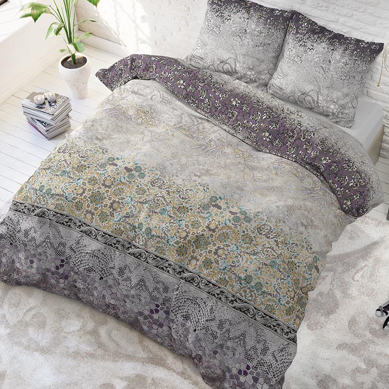 Sleeptime Elegance Estelle - Paars 2-persoons (200 x 200/220 cm + 2 kussenslopen)