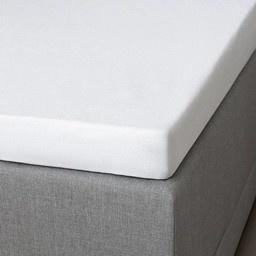 Hoeslaken Katoen - Pasvorm: Standaard Matras 70x190/200 cm - Wit - Presence - Ga naar Dekbed-Discoun
