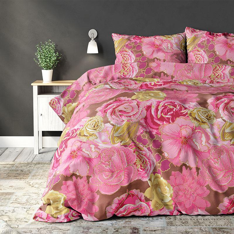Sleeptime Elegance Camille Pink Lits-jumeaux (240 x 200/220 cm + 2 kussenslopen)