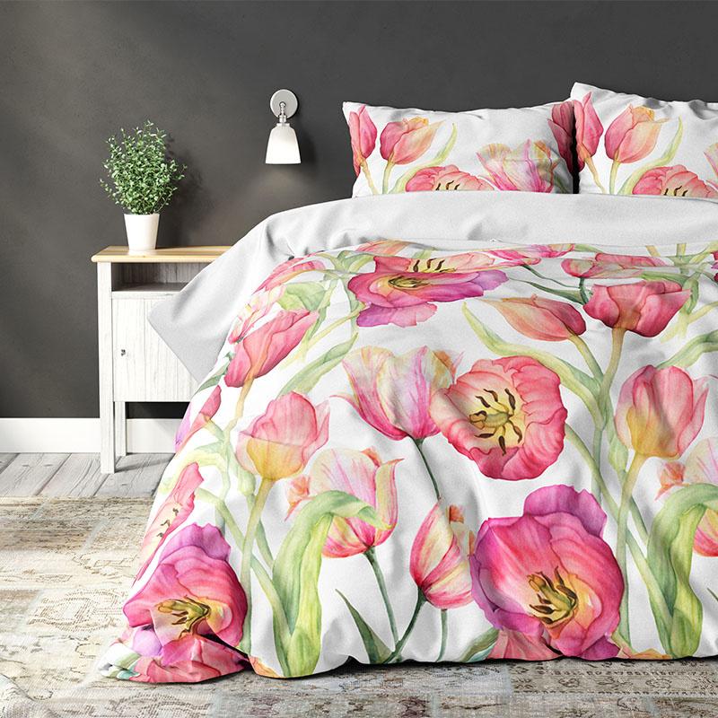 Sleeptime Elegance Lilly - Pink 2-persoons (200 x 220 cm + 2 kussenslopen) Dekbedovertrek