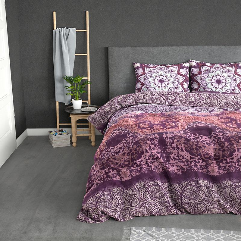Sleeptime Elegance Isabel - Pink 2-persoons (200 x 220 cm + 2 kussenslopen) Dekbedovertrek