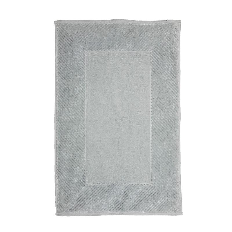 The One Towelling Badmat Velours - 50 x 80 cm Kleur: Grijs