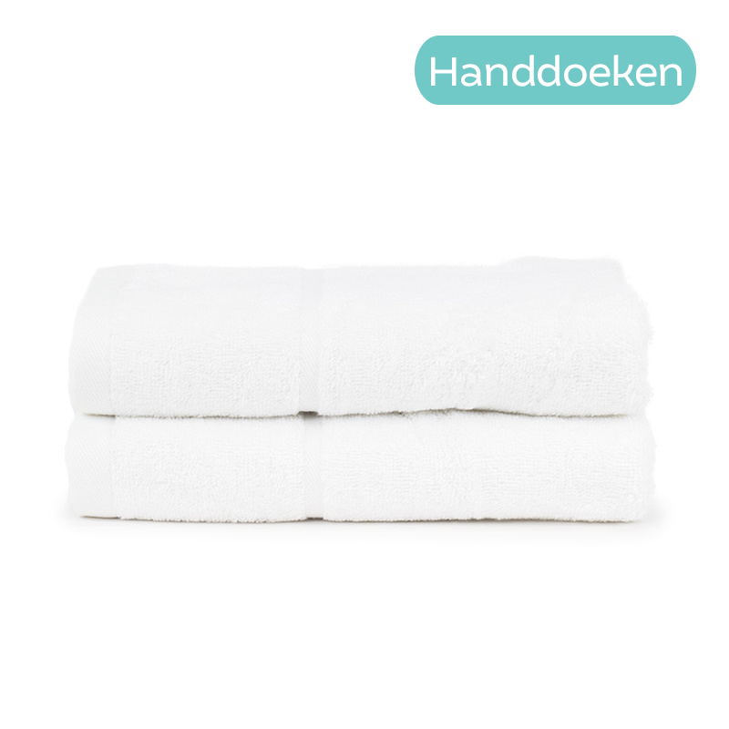 The One Towelling 2-PACK - Badtextiel Hotel - Wit Type: 2-Pack Handdoeken
