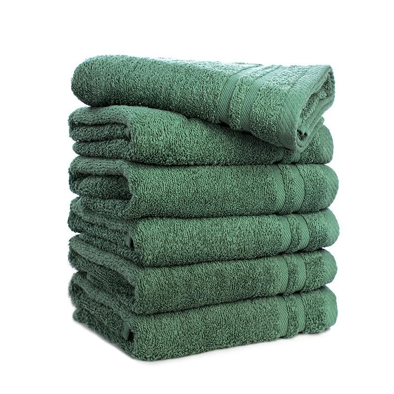 Dekbed Discounter 6-PACK: Handdoeken 50 x 100 cm Kleur: Ijsblauw
