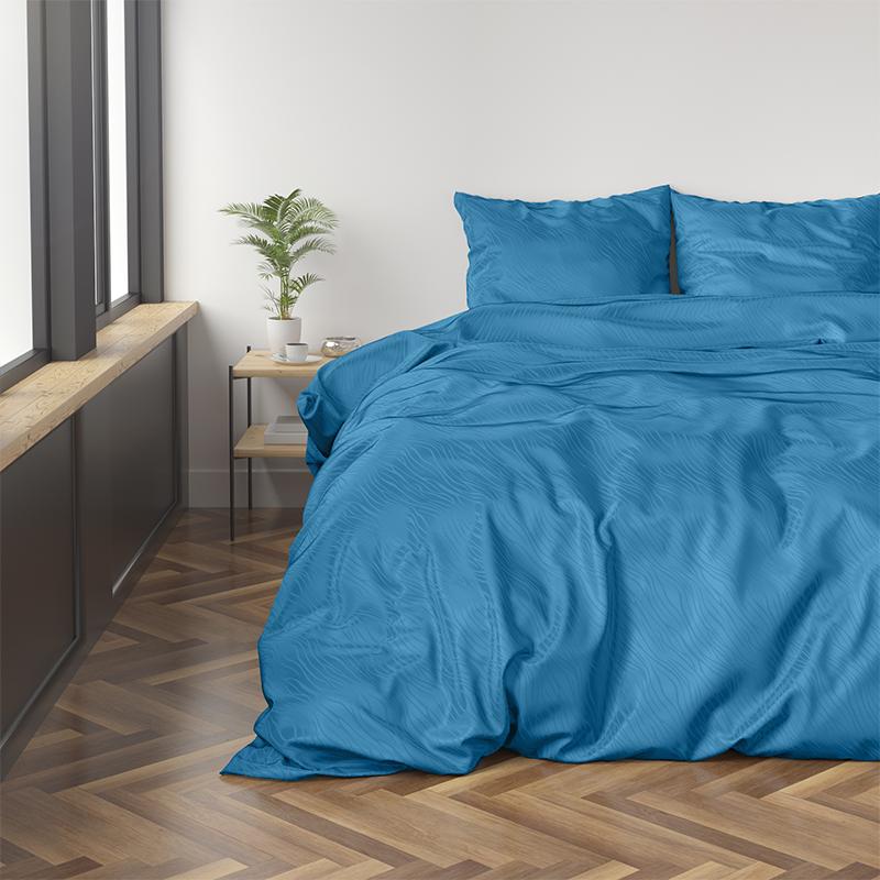Zensation Orion - Turquoise 240 x 220 cm Dekbedovertrek